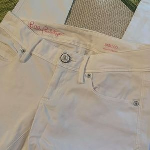 Lilly Pulizer White Jeans